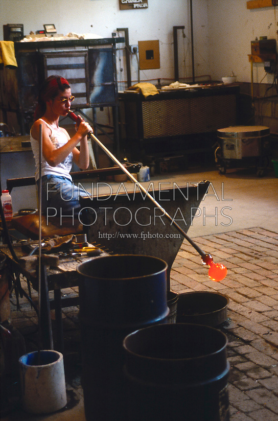 GLASS BLOWING<br />