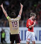 Fussball Bundesliga 2010/11, 12. Spieltag: FSV Mainz 05 - Hannover 96