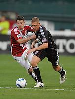 DC United forward Danny Allsopp   DC United defeated Chivas USA 3-2 at RFK Stadium, Saturday  May 29, 2010.