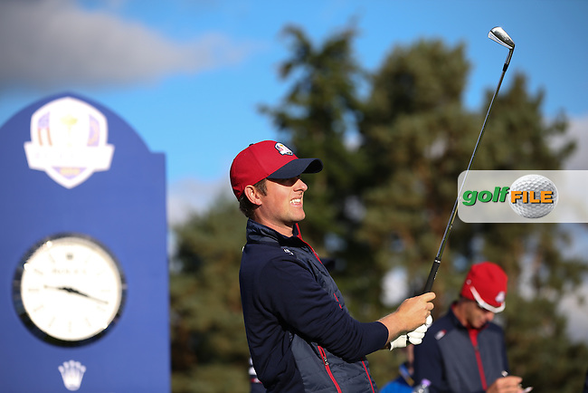Webb Simpson (USA) during the 2014 Ryder Cup from Gleneagles, Perthshire, Scotland. Picture:  David Lloyd / www.golffile.ie