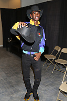 NEW YORK, NY - JUNE 2, 2019 LiL Nas X backstage at Summer Jam at Met Life Stadium, June 2, 2019 in East Rutherford, NJ. <br /> CAP/MPIWG<br /> ©WG/MPI/Capital Pictures