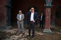 Abelardo Morales at his hacienda Las Morerías, Santiago near Monterrey, Nuevo Leon, Mexico