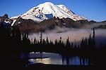 Mount Rainier in fall