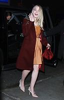 JAN 16 Dakota Fanning Seen In NY