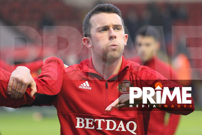 George Honeyman (Sunderland AFC) during the Sky Bet League 1 match between Walsall and Sunderland at the Banks's Stadium, Walsall, England on 24 November 2018. Photo by James  Gill / PRiME Media Images.