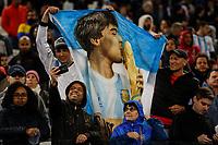 SÃO PAULO, SP 06.07.2019: ARGENTINA-CHILE - Torcida. Argentina e Chile durante partida válida pela disputa do terceiro lugar da Copa América Brasil 2019, que acontece na Arena Corinthians, zona leste da capital paulista na tarde deste sábado (06). (Foto: Ale Frata/Código19)