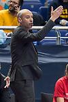 Palma Futsal coach Antonio Vadillo Sanchez during Futsal Spanish Cup 2018 at Wizink Center in Madrid , Spain. March 15, 2018. (ALTERPHOTOS/Borja B.Hojas)