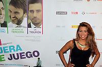 Sandra Cervera - Premiere En Fuera De Juego - photocall in Madrid