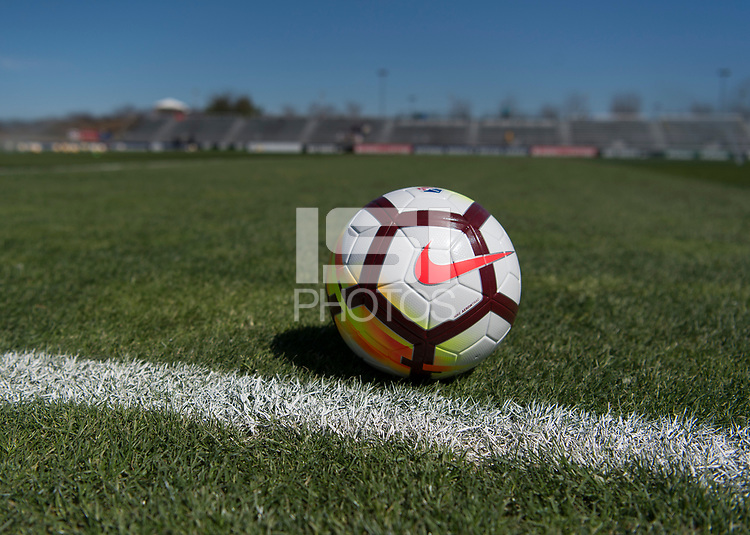 Boyds, MD - March 31, 2018: The Washington Spirit defeated the Orlando Pride 2-0 during a National Women's Soccer League (NWSL) match at the Maryland SoccerPlex.