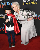 "11 March 2019 - Hollywood, California - Dame Helen Mirren, Helen Mirren. ""Dumbo"" Los Angeles Premiere held at Ray Dolby Ballroom. Photo Credit: Birdie Thompson/AdMedia"