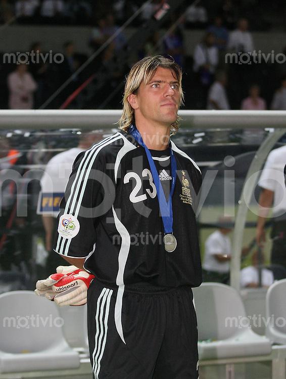 Fussball WM 2006 Finale Italien - Frankreich Gregory COUPET (FRA)