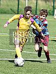 Drogheda Schoolboys Adam Gillespie Wexford Jamie Hudson. Photo:Colin Bell/pressphotos.ie