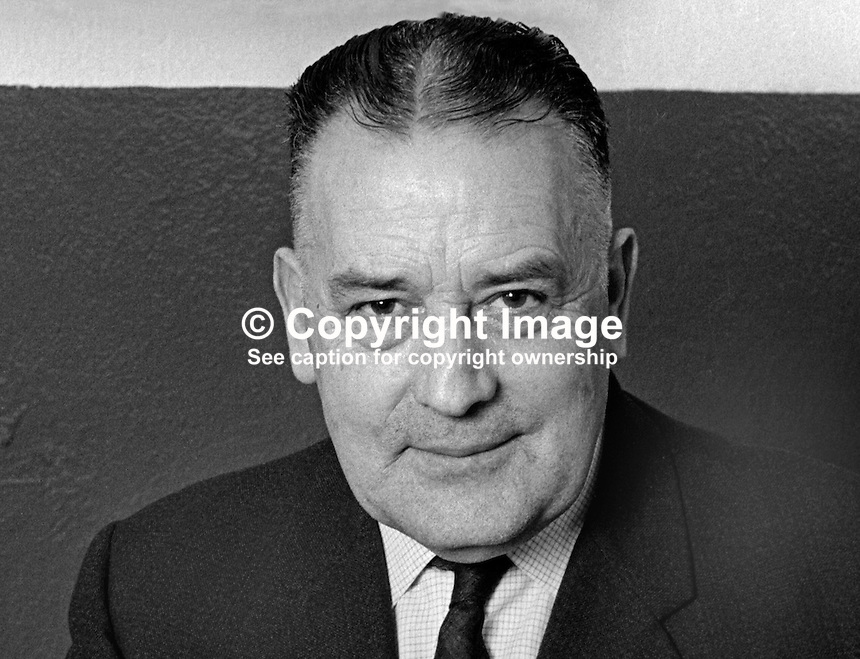 Robert Radcliffe, secretary, Portadown FC, N Ireland, February, 1070, 197002000084<br /> <br /> Copyright Image from<br /> Victor Patterson<br /> 54 Dorchester Park<br /> Belfast, N Ireland, UK, <br /> BT9 6RJ<br /> <br /> t1: +44 28 90661296<br /> t2: +44 28 90022446<br /> m: +44 7802 353836<br /> e1: victorpatterson@me.com<br /> e2: victorpatterson@gmail.com<br /> <br /> www.victorpatterson.com