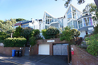 BNPS.co.uk (01202 558833)<br /> Picture: BournemouthEcho/BNPS<br /> <br /> Ocean Heights (pictured centre)<br /> <br /> A home that is owned by a millionaire businessman on the exclusive peninsula of Sandbanks has become an Airbnb 'party house', according to irate neighbours.<br /> <br /> Ocean Heights in Dorset is believed to be worth a whopping £1.3m and is offered for let to groups of up to 16 for £750 a night.<br /> <br /> Wealthy residents in the area say guests have included 'raucous' hen and stag parties, with  revelers in hot tubs and on balconies until 2am.<br /> <br /> The semi-detached property is owned by Maximillian De Kment, a former professional rugby player and chief executive of estate agents Saxe Coburg and Lovett International.