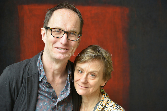 Nicci Gerrard and Sean French, English writers in 2015, Nicci French.