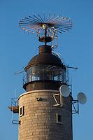 France, Pas-de-Calais (62), Côte d'Opale , Audinghen, Cap Gris-Nez,  le phare  // France, Pas de Calais, Cote d'Opale (Opal Coast)  , Audinghen, Cap Gris Nez,: the lighthouse