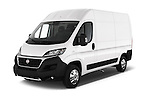 2016 Fiat Ducato MultiJet-MH2 4 Door Cargo Van Angular Front stock photos of front three quarter view
