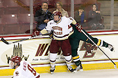 Patrick Brown (BC - 23) - The Boston College Eagles defeated the visiting University of Vermont Catamounts 6-0 on Sunday, November 28, 2010, at Conte Forum in Chestnut Hill, Massachusetts.
