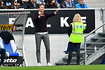 14.04.2019, PreZero Dual Arena, Sinsheim, GER, 1. FBL, TSG 1899 Hoffenheim vs. Hertha BSC Berlin, <br /> <br /> DFL REGULATIONS PROHIBIT ANY USE OF PHOTOGRAPHS AS IMAGE SEQUENCES AND/OR QUASI-VIDEO.<br /> <br /> im Bild: Julian Nagelsmann (Trainer TSG Hoffenheim)<br /> <br /> Foto &copy; nordphoto / Fabisch