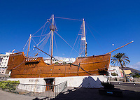 The Museo Naval Santa Maria at Santa Cruz, a replica of the flagship Christopher Columbus used when he discovered America in 1492.
