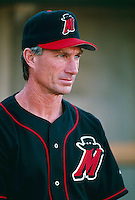 High Desert Mavericks Manager Chris Speier during a game at Mavericks Stadium in Adelanto, California during the 1997 season.(Larry Goren/Four Seam Images)