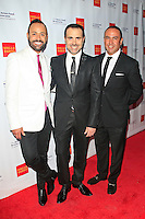 LOS ANGELES - JUN 7: Nick Verreos, David Paul, Louie Anchondo at the Actors Fund's 19th Annual Tony Awards Viewing Party at the Skirball Cultural Center on June 7, 2015 in Los Angeles, CA