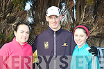 Margaret Falvey, Michael Herlihy and Sinead O'Connor Killarney at the Farranfore road race on Sunday