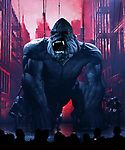 """King Kong during the Broadway Opening Night Curtain Call for """"King Kong - Alive On Broadway"""" at the Broadway Theater on November 8, 2018 in New York City."""