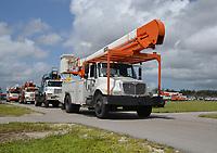 2017 FPL Hurricane Irma restoration in Fort Myers, Fla. on Sept. 12, 2017