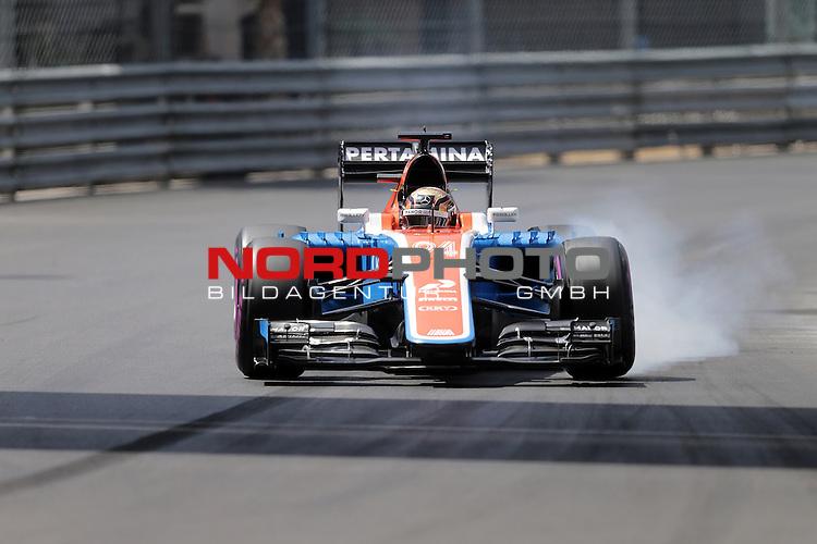 26.-29.05.2016, Circuit de Monaco, Monte Carlo, MCO, Gro&szlig;er Preis von Monaco, Monte Carlo, RACE 06,  im Bild<br /> Pascal Wehrlein (GER#94), Manor Racing MRT verbremst sich vor der Rascasse  <br /> <br /> <br /> Foto &copy; nordphoto / Bratic