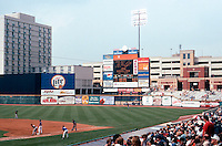 Ballparks: Akron--Canal Park, right field.