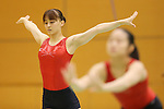(L to R) Rie Tanaka (JPN), Koko Tsurumi (JPN), .June 21, 2012 - Artistic Gymnastics : .Women's Japan National Team Training Camp .at Ajinomoto National Training Center, Tokyo, Japan. .(Photo by Daiju Kitamura/AFLO SPORT) [1045]