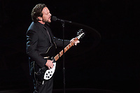 Eddie Vedder performs during &quot;In Memoriam&quot; at the live ABC Telecast of The 90th Oscars&reg; at the Dolby&reg; Theatre in Hollywood, CA on Sunday, March 4, 2018.<br /> *Editorial Use Only*<br /> CAP/PLF/AMPAS<br /> Supplied by Capital Pictures