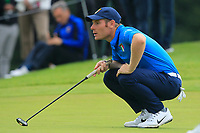 Lorenzo Filippo Scalise of Team Italy on the 18th green during Round 4 of the WATC 2018 - Eisenhower Trophy at Carton House, Maynooth, Co. Kildare on Saturday 8th September 2018.<br /> Picture:  Thos Caffrey / www.golffile.ie<br /> <br /> All photo usage must carry mandatory copyright credit (© Golffile | Thos Caffrey)