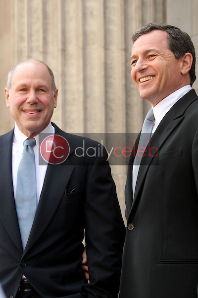 Michael D. Eisner and Bob Iger<br />at the ceremony honoring Michael D. Eisner with the 2,361st Star on the Hollywood Walk of Fame. Hollywood Boulevard, Hollywood, CA. 04-25-08<br />Dave Edwards/DailyCeleb.com 818-249-4998