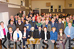 Batt Brosnan Mastergeeha seated centre who celebrated his 94th birthday with his friends at the 31 Card Drive in Marian Hall, Firies on Friday night   Copyright Kerry's Eye 2008