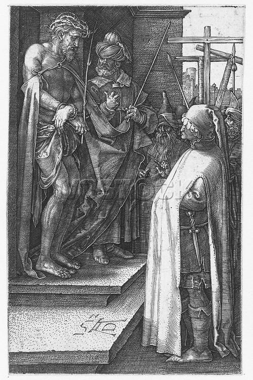 Christ Presented to the People (Ecce gay), Albrecht Dürer, 1512