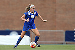 21 August 2015: Duke's Kara Wilson. The Duke University Blue Devils played the Fresno State Bulldogs at Fetzer Field in Chapel Hill, NC in a 2015 NCAA Division I Women's Soccer game. Duke won the game 5-0.
