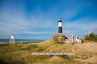 64795-00918 Big Sable Point Lighthouse on Lake Michigan, Mason County, Ludington, MI