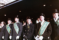 Defile de la Saint-Patrick, le 18 maers 1978 au centre-ville.<br /> <br /> PHOTO :  Agence Quebec Presse