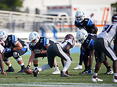 Greg Crippen (74), Patrick Evans (71) - Norland Vikings (Miami) vs IMG Academy Football on October 26, 2019 at IMG Academy in Bradenton, Florida.  (Mike Janes Photography)
