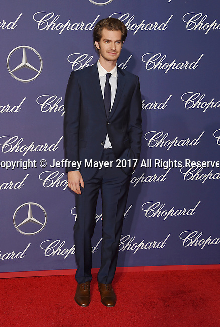 PALM SPRINGS, CA - JANUARY 02: Actor Andrew Garfield attends the 28th Annual Palm Springs International Film Festival Film Awards Gala at the Palm Springs Convention Center on January 2, 2017 in Palm Springs, California.