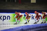 SCHAATSEN: IJSSTADION THIALF: 21-06-2013, Training zomerijs, Team Corendon, ©foto Martin de Jong