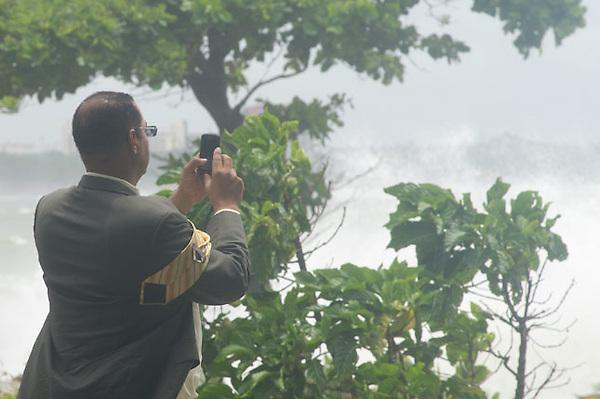 Santo Domingo: Paso de la Toermenta Emely por el Pais hoy miercoles 5/8/11