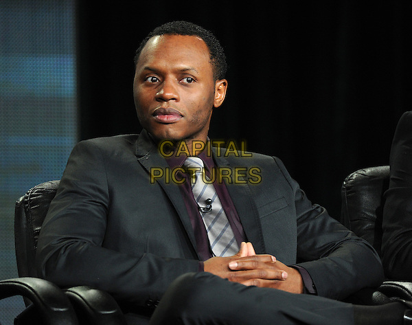 PASADENA, CA - JANUARY 11: Malcolm Goodwin attends the iZombie presentation at the CW 2015 Winter Television Critics Association (TCA) press tour at The Langham Huntington Hotel and Spa on January 11, 2015 in Pasadena, California. <br /> CAP/MPI/PGFM<br /> &copy;PGFM/MPI/Capital Pictures