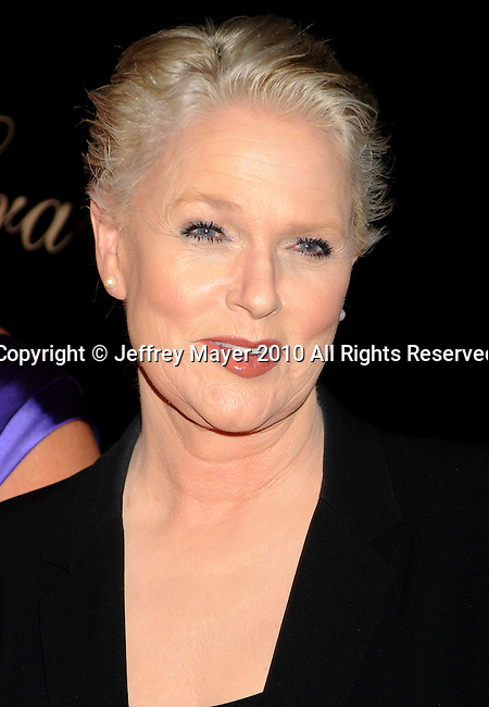 BEVERLY HILLS, CA. - May 25: Sharon Gless arrives at the 35th Annual Gracie Awards Gala at the Beverly Hilton Hotel on May 26, 2010 in Beverly Hills, California.