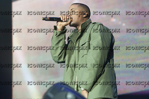 Nas (born Nasir bin Olu Dara Jones) - performing live at the O2 Arena in London UK - 19 Mar 2013.  Photo credit: Jeff Barclay/Music Pics Ltd/IconicPix