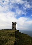 Moher Tower, at Hag's Head, at the Cliffs of Moher, Co. Clare, Ireland
