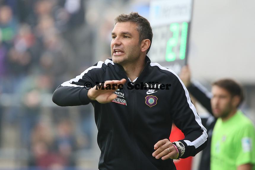 Trainer Tommy Stipic (Aue) - FSV Frankfurt vs. FC Erzgebirge Aue, Frankfurter Volksbank Stadion