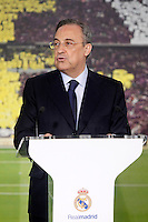 Real Madrid's President Florentino Perez. June 26, 2013. (ALTERPHOTOS/Acero) .<br /> ©NortePhoto